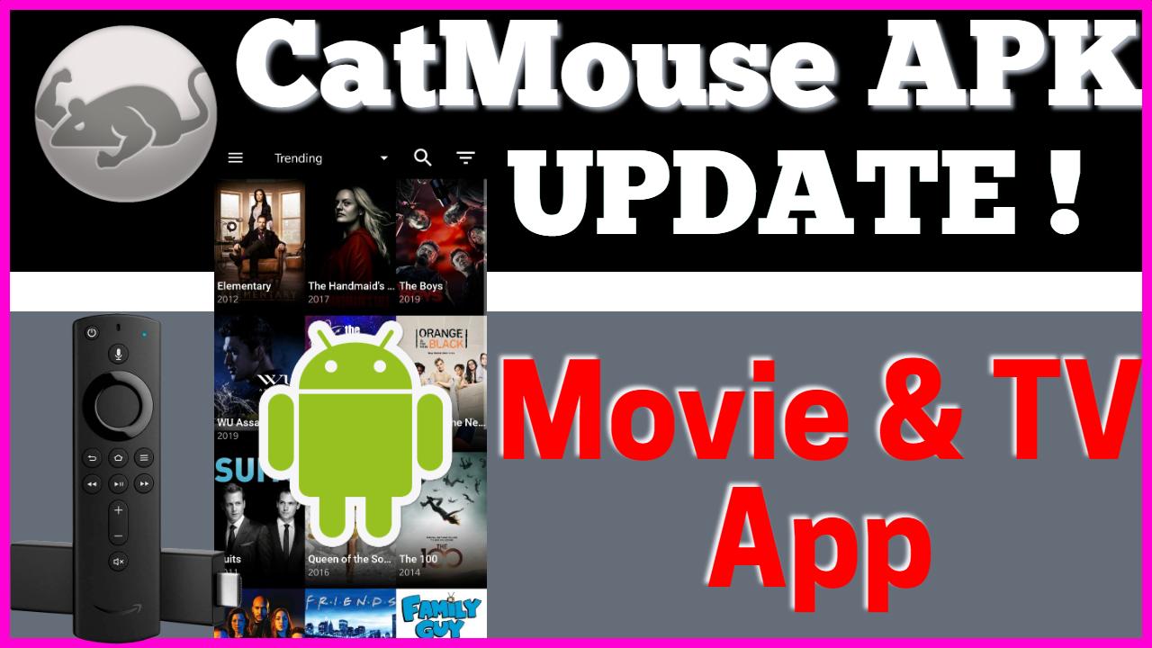 Install Catmouse APK New Update - NEW Terrarium TV