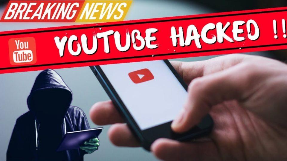 youtube account hacked help