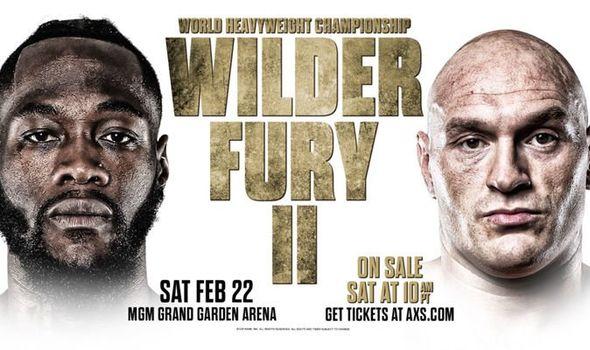 Wilder Fury 2 übertragung