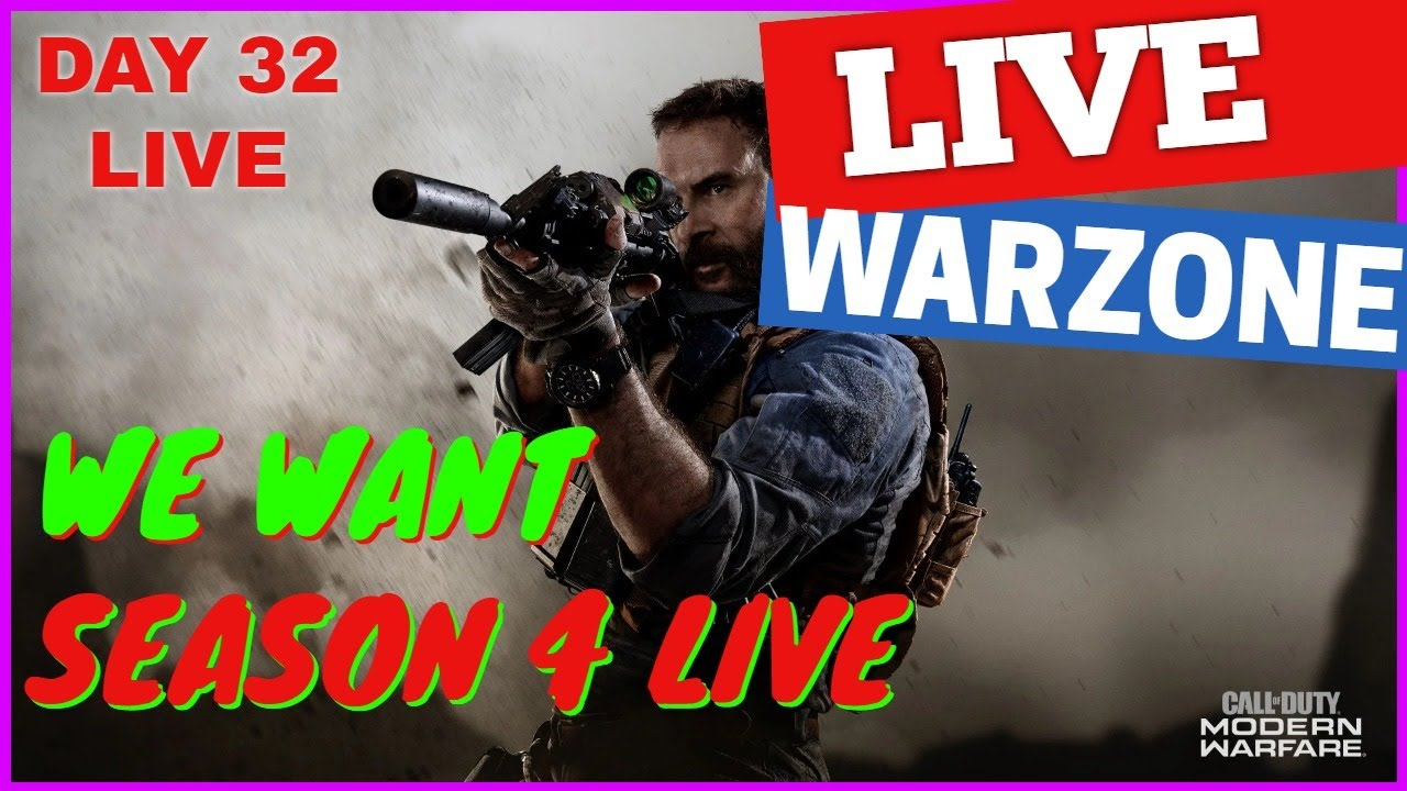 Season 4 Call Of Duty Warzone Gameplay Live Where Are You