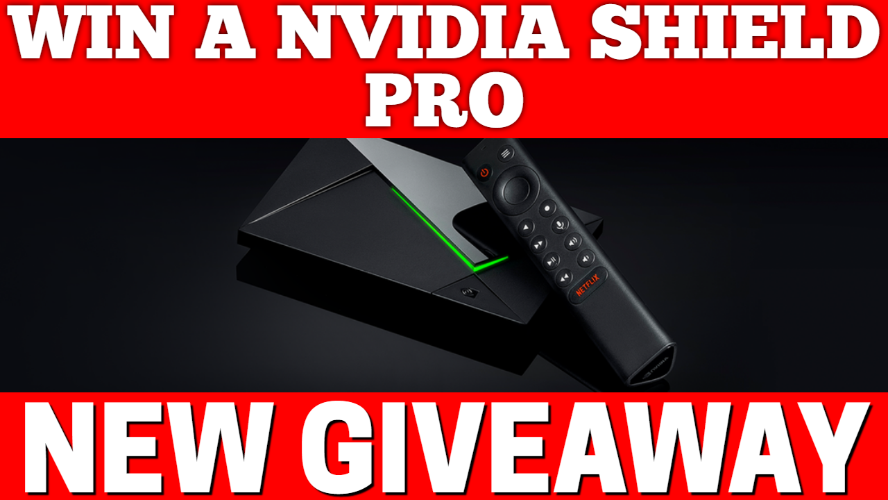 Win a Nvidia Shield PRO *World Wide Entry* ~ DocSquiffy.com